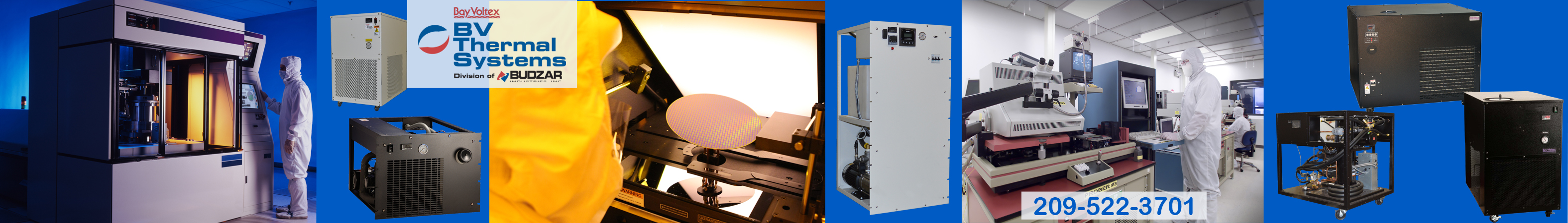 Chillers for Semiconductor Chip Manufacturing from BV Thermal Systems