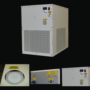 Benchtop Chiller from BV Thermal Systems - close ups of unit