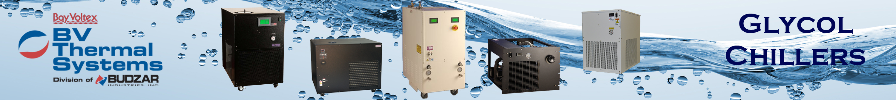 Glycol Chillers from BV Thermal Systems