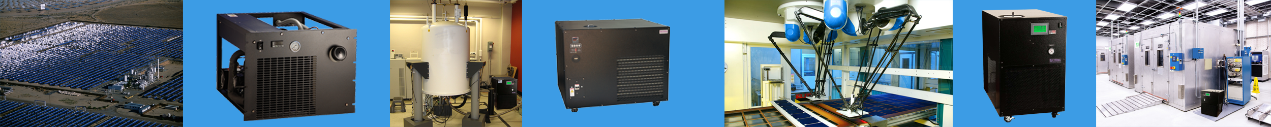 Chillers and Heat Exchangers from BV Thermal Systems are used in Research and Development